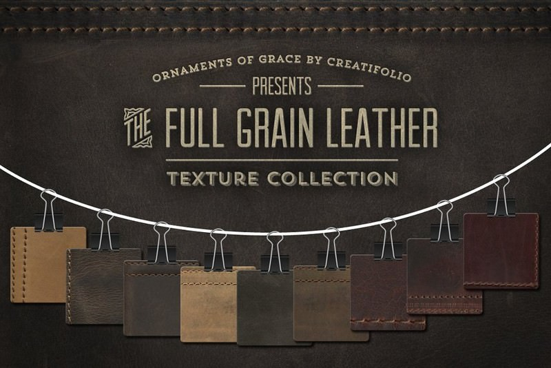 Full-Grain Leather Textures