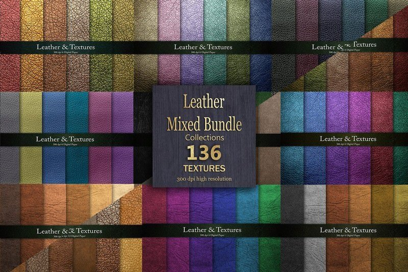 Leather Textures Bundle