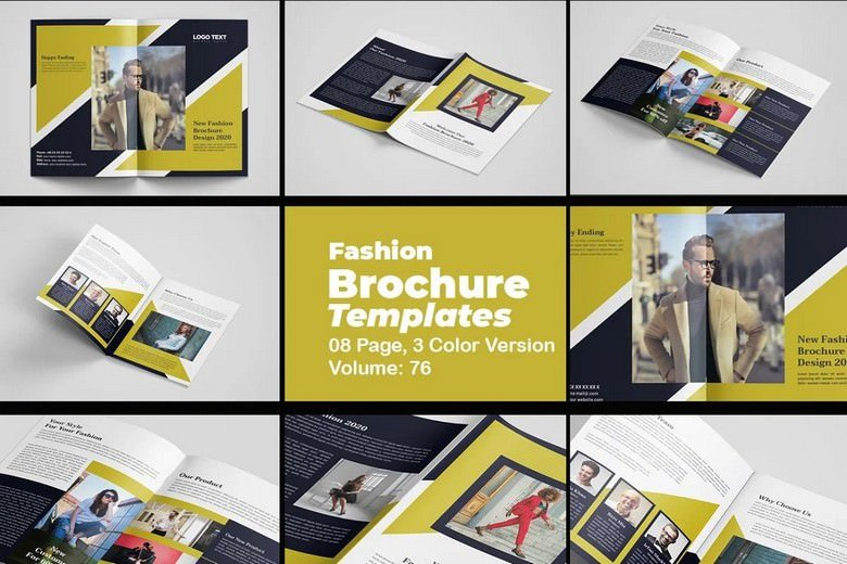 8 Fashion Brochure Template