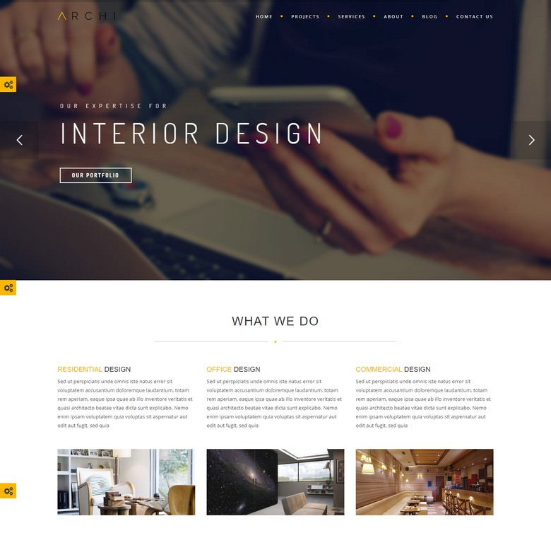 Archi - Premium Interior Design Joomla Template