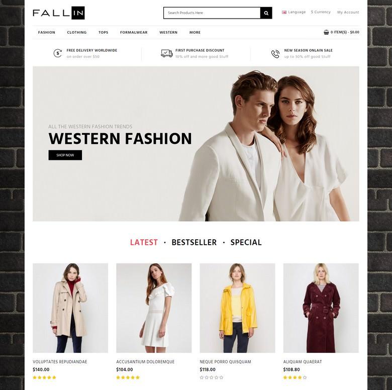 Fallin - Fashion Store