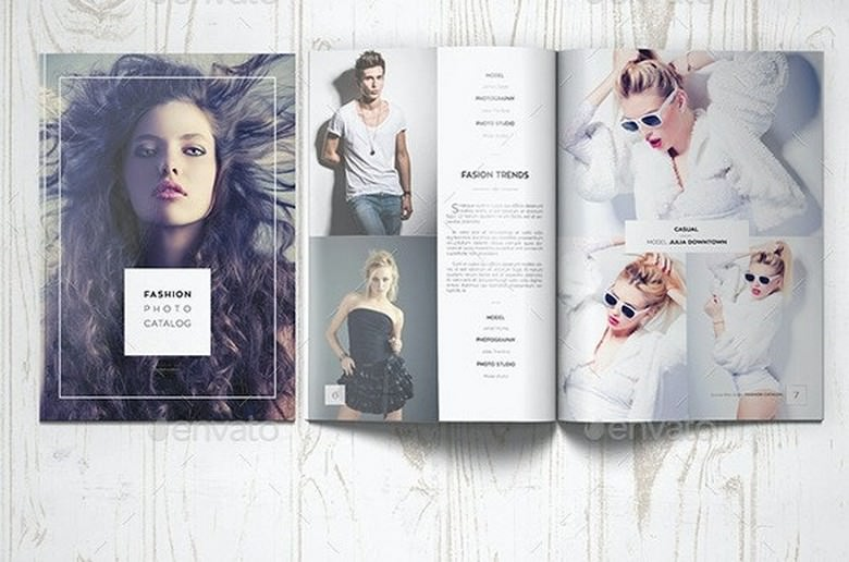 Fashion Photography Catalog Brochure