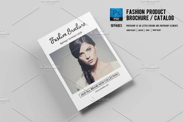 Fashion Product Brochure Catalog