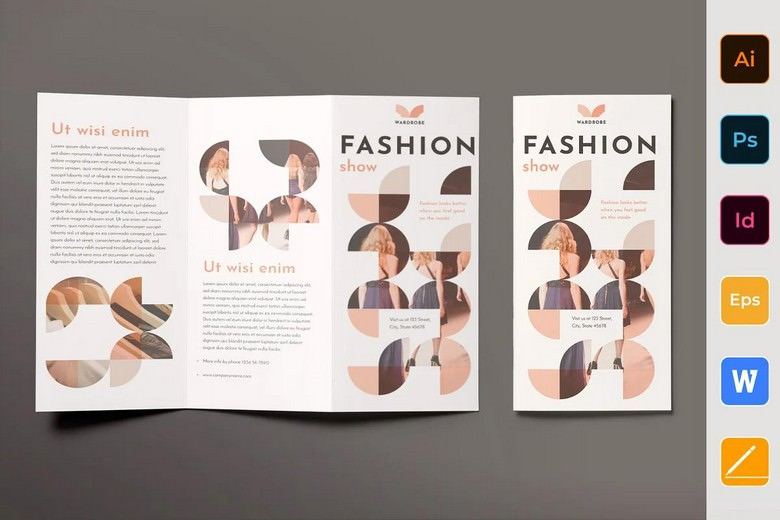 Fashion Shop Brochure Trifold