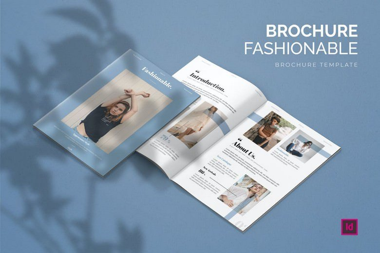 Fashionable - Brochure Template