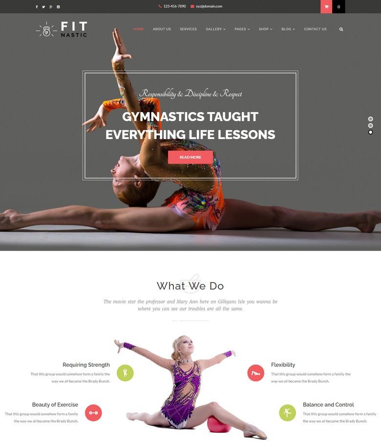 Fitnastic Gym & Fitness WordPress Theme