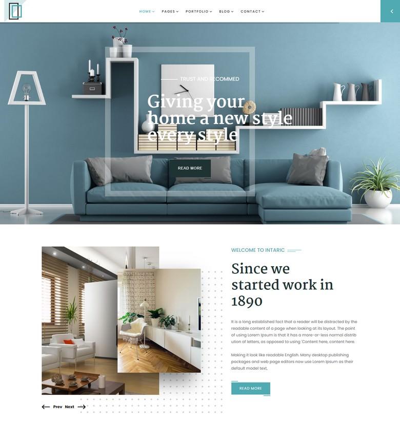 Interior & Architecture Joomla Template Bootstrap v3
