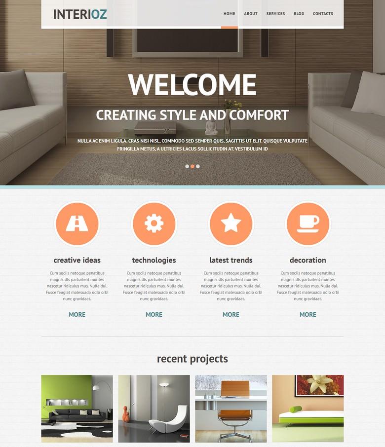 Interior Design Agency Joomla Template