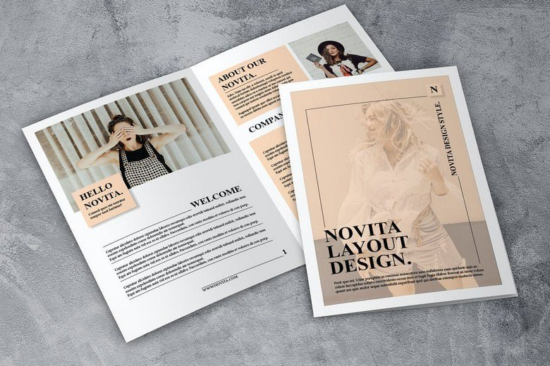 Novita - Elegant Fashion Brochure 12 pages