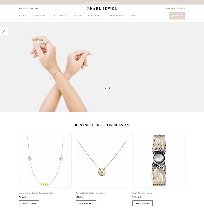 Pearl Jewel - Sophisticated Jewellery Online Shop