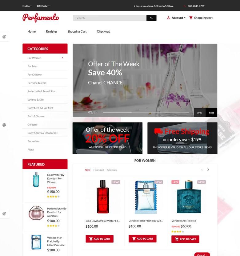 Perfumento - Perfume Store