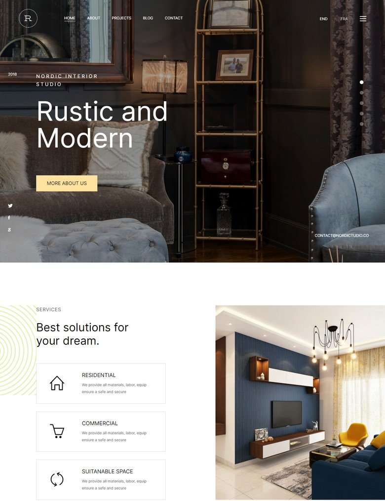 Rustic - Corporate Bootstrap 5 HTML Template