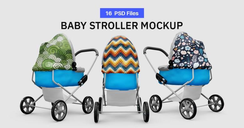 Baby Stroller Mock-up