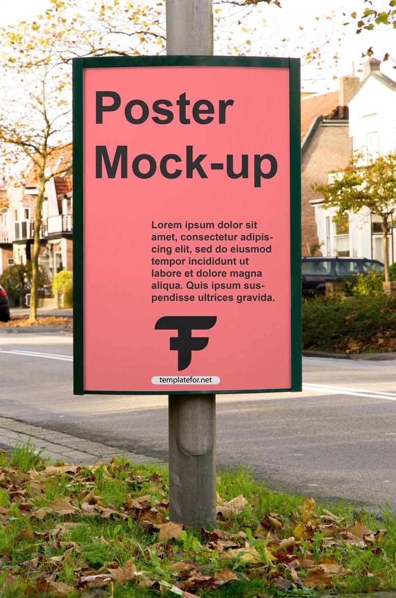Billboard Sign Mockup