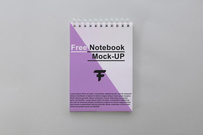Blank Notebook Mockup