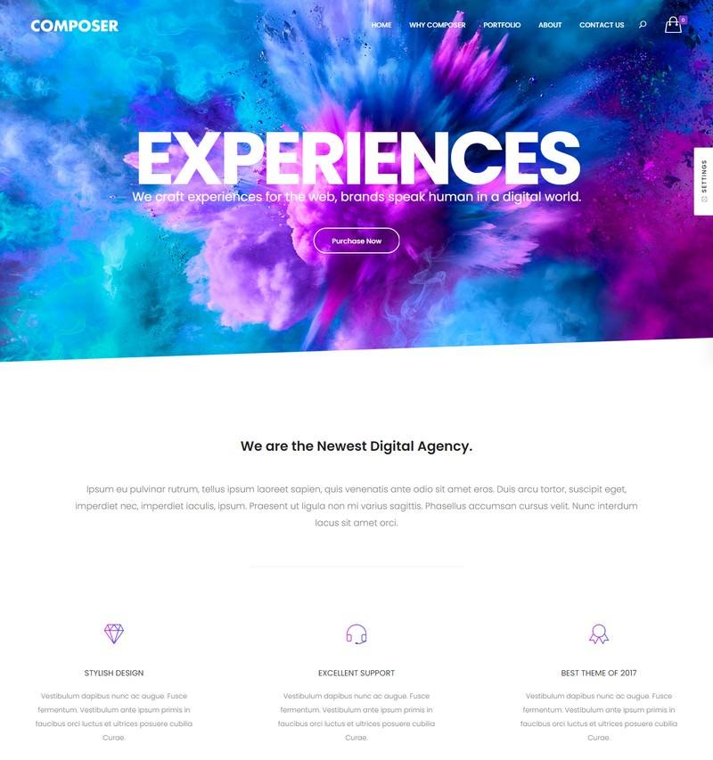 Composer - Responsive Multi-Purpose High-Performance WordPress Theme