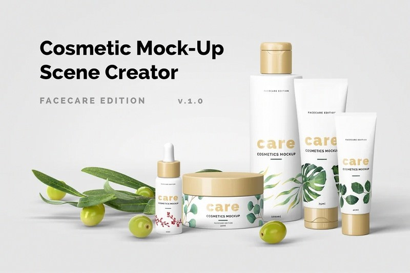 Cosmetic Mock-Up Scene Creator