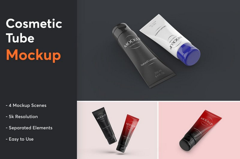 Cosmetic Tube Mockup 1.0