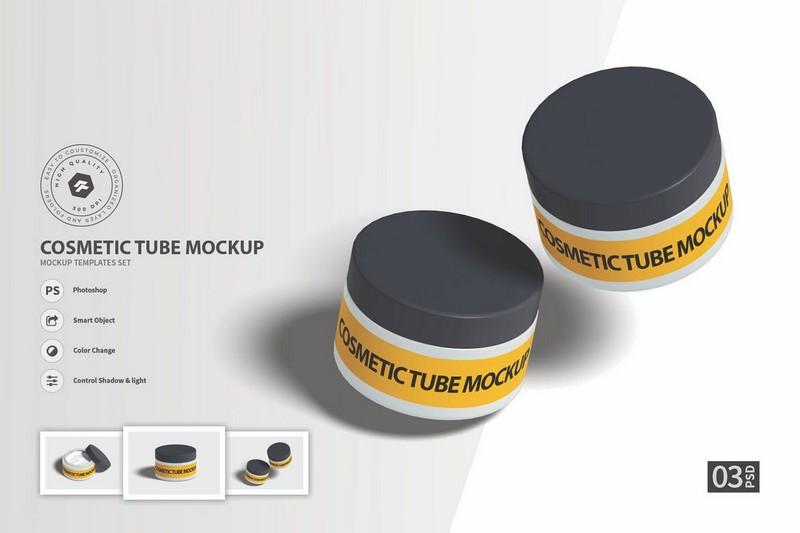 Cosmetic Tube vol.1 - Mockup FH