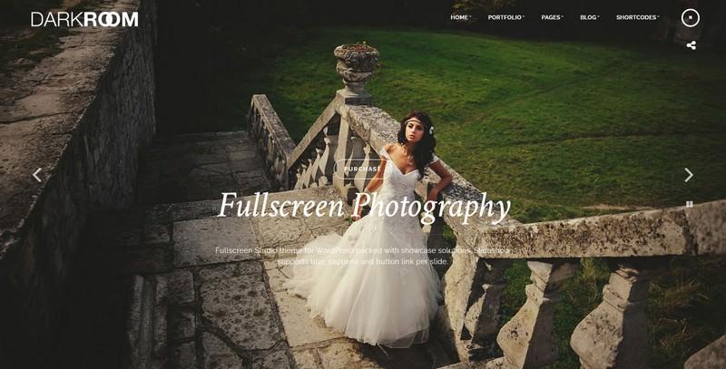 Darkroom Photography Theme for WordPress