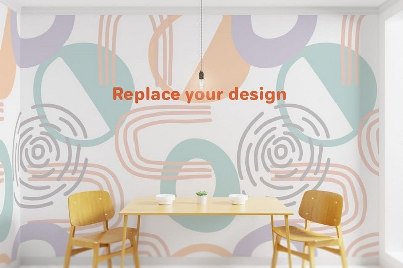 Interior Art wall Mockup