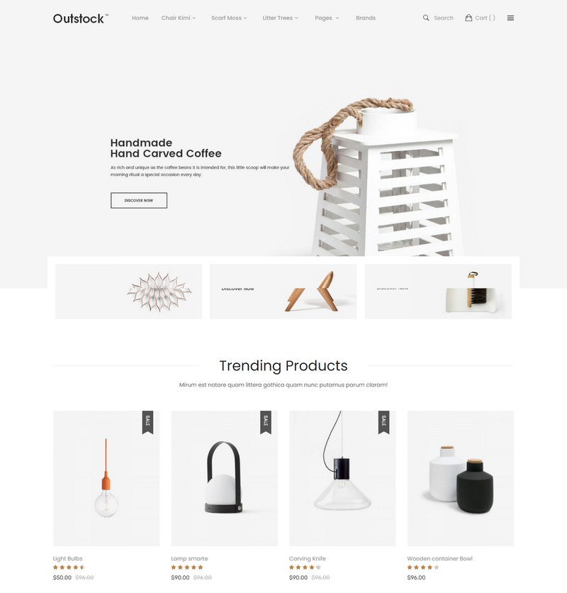 Outstock - Magento 2 Responsive Furniture Theme