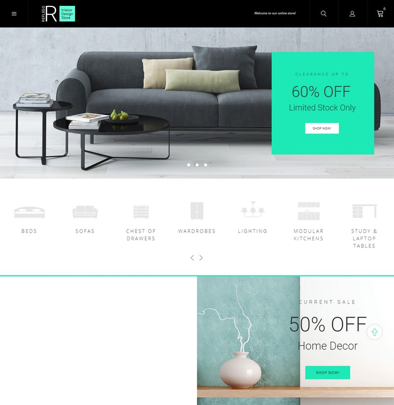 Reflego - Furniture & Home Decor Magento Theme