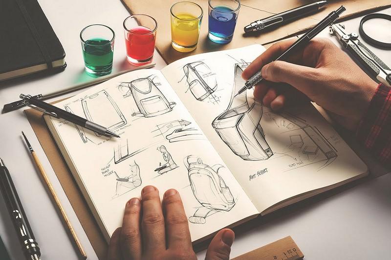 Sketchbook Mockup Artists Edition