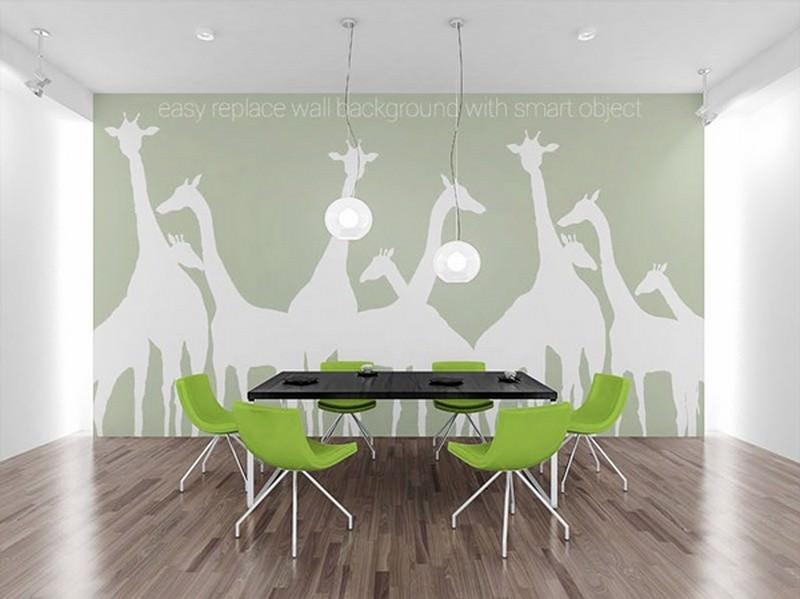 Wall Art PSD MockUp