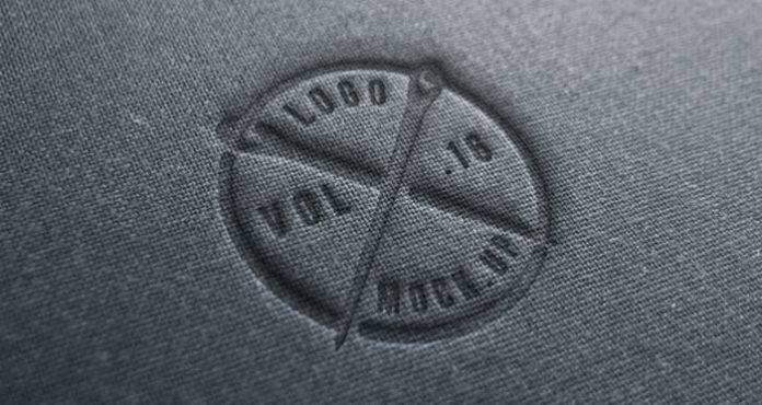 Fantastic Logo Mock-Up For Textile Business