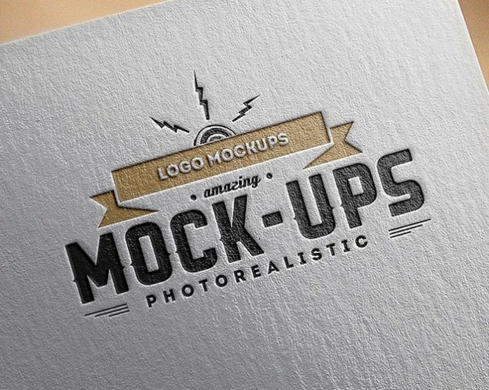 Photo-Realistic Paper Logo MockUps