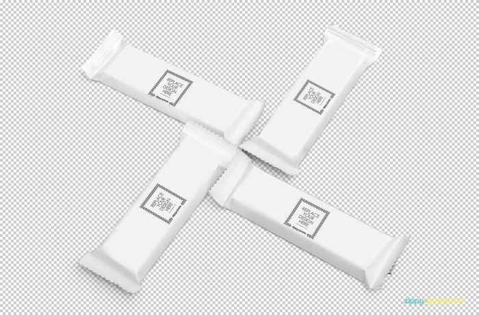 Blank Luscious Chocolate Packaging PSD Mockup