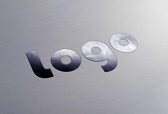 Stylish Metallic Logo Mockup 2200×1500 px PSD