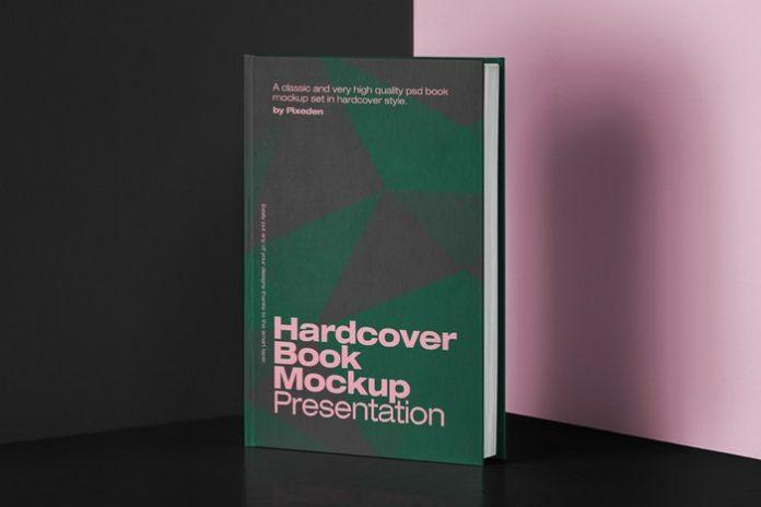 Classic Hardcover Book Mockup Set