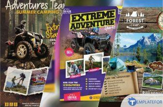 25+ Best Adventure Flyer Templates – PSD, AI Format 2021