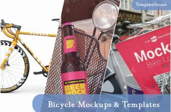 20+ Best Bicycle Mockup Templates For Effective Marketing 2020