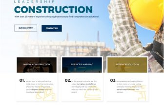 60+ Best Architecture Construction HTML5 Website Templates 2020