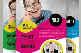 15+ Best Business Analyst Flyer Templates & Designs 2018