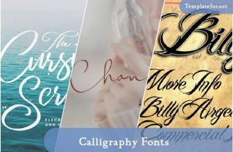 40+ Best Calligraphy Fonts Charm Your Designs