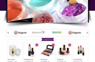 15+ Best Beauty Cosmetic Store Magento Themes 2018