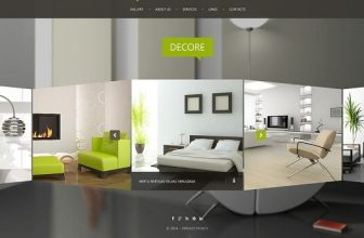 60+ Best Interior Design Furniture Website Templates 2020