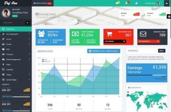 34+ Best Dashboard Bootstrap Website Templates 2018