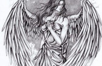 23+ Best Angels Drawings For Inspiration 2020