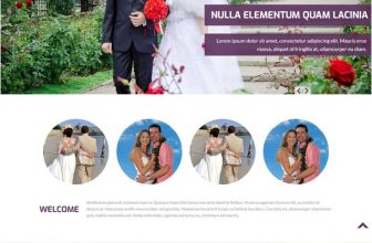 22+ Wedding HTML5 & CSS3 Website Templates 2018