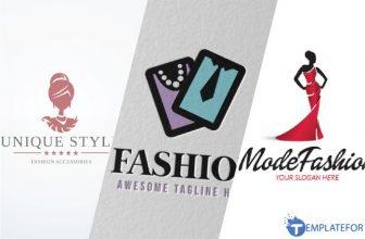 25+ Best Fashion World Logo Designs & Templates 2021
