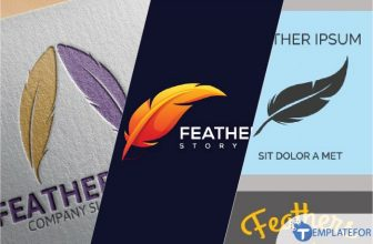 35+ Best Feather Logo Designs & Templates 2021