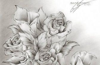 22+ Best Flower Drawings