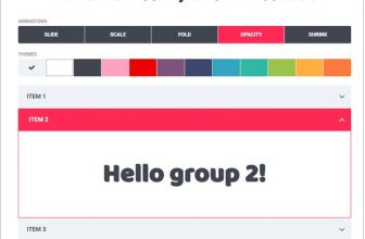 22+ Best jQuery Accordions And Tab For Website