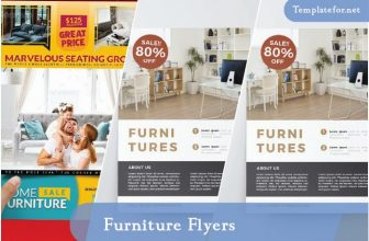 24+ Amazing Furniture Flyer Templates – 2021