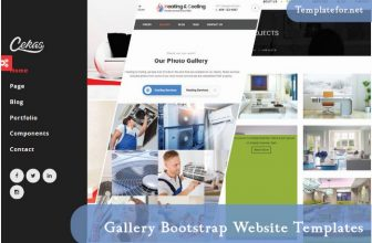 20+ Best Gallery Bootstrap Website Templates 2020